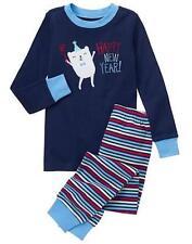 NWT Gymboree Boys Holiday Gymmies Pajamas set happy NEW YEAR ManySizes