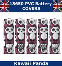 Panda 18650 PVC Calor Shrink Wrap Tapas De Batería Calavera de Diversos Estilos