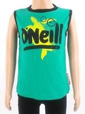 original O'Neill Tanktop Trägershirt Shirt Nathan grün Schriftzug NEU