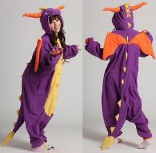 Spro the Dragon Adult Onesie Kigurumi Pyjamas Anime Cosplay Costume Hoodies UK