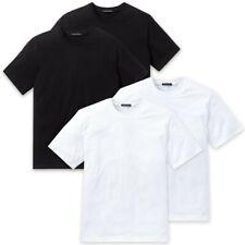 Schiesser Herren American T- Shirts mit Rundhals, 2er Pack, 100% Baumwolle, Neu