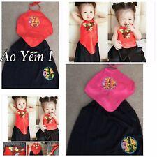 NEW Vietnames Traditional Dress for kids Girls, AO YEM.  Gam Thai Tuan Ao Dai
