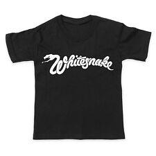 WHITESNAKE - ROCK METAL MUSIC BAND - Boys Girls Children Kids T-Shirt Tee