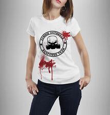 Zombie Response Team T Shirt Crâne Halloween Déguisement Robe tshirt Drôle Neuf