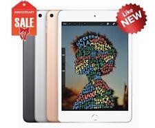 Apple iPad mini 5th Wi-Fi + Unlocked, 7.9in - 64GB 256GB - Gray Silver Gold