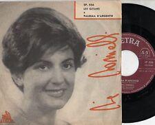 TONINA TORRIELLI disco 45 giri MADE in ITALY Les gitans + Paloma d'argento
