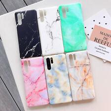 For Huawei Mate20 P30 Pro P20 Lite Nova 3i 4E 3E Marble Stone Pattern Phone Case