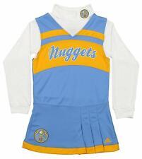 Adidas NBA Youth Girls Denver Nuggets Cheer Jumper Dress, Blue