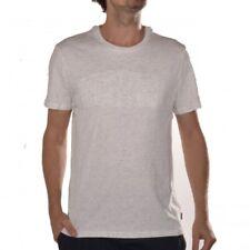 Bench Abridge Herrenshirt weiß meliert Printshirt Logo T-shirt BMGA3705 WH001