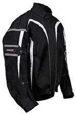 Roleff RO607- Mesh Motorradjacke in schwarz - kurze Sommer Motorradjacke, Roller