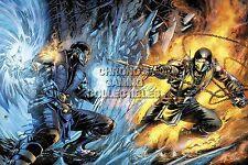 RGC Huge Poster - Mortal Kombat XL X Subzero vs Scorpion PS4 XBOX ONE - MKX067