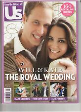 PRINCE WILLIAM KATHERINE MIDDLETON PRINCESS DIANA DI ROYAL WEDDING US MAGAZINE