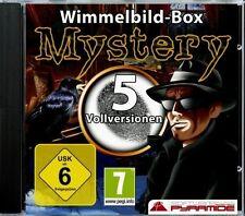 WIMMELBILD-BOX MYSTERY   5 Vollversionen   PC   NEU & SOFORT