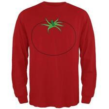 Halloween Fruit Vegetable Tomato Costume Mens Long Sleeve T Shirt