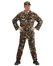Costume Carnevale Uomo Travestimento Mimetica Militare PS 26302