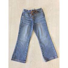 D&G Junior Girls Bootleg Blue Denim Jeans Boho Size Age 2 or 8 Years Brand New