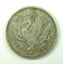 Japan 100 Yen Silver Coin Japanese Showa Emperor