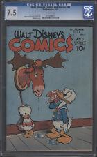 Walt Disney's Comics and Stories #85, 1947 - Cgc 7.5
