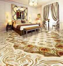 3D d'oro nobile terra Pavimento Foto Wallpaper Murales Muro Stampa Decalcomania