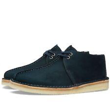 Clarks Originals Hombre ** Desierto Caminata ** Azul de medianoche UK 6.5/7.5 G de Estados Unidos