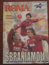 ROMA - JUVENTUS PROGRAMMA CALCIO CAMPIONATO 10/02/2002