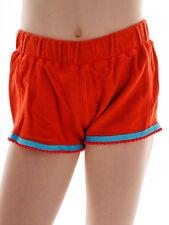 Brunotti pantalones cortos de verano garna Rojo blätterprint Cintura Elástica