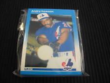 1987 FLEER MONTREAL EXPOS TEAM SET 25 CARDS FACTORY