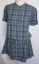 Nuevas DAMAS Made & Crafted Levi's de algodón a cuadros vestido de verano del Reino Unido Talle 10-16 BNWOT