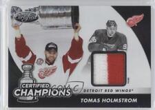 2011 Panini Certified Champions Materials Prime Memorabilia #14 Tomas Holmstrom