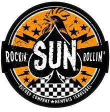 Vinyl Sticker sun rockabilly rock and roll records elvis 1950s laptop car retro