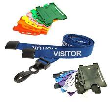 Blue visitatore Breakaway cordino clip in plastica con porta carte ID Paesaggio