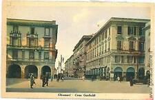 CARTOLINA d'Epoca - CHIAVARI: CORSO GARIBALDI