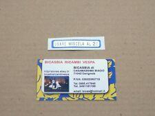 0641 ADESIVO AZZURRO MISCELA 2% VESPA 50 SPECIAL R L N*