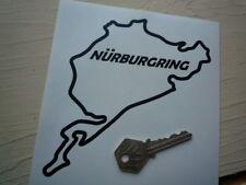 NÜRBURGRING Klassisch Ausgeschnitten Style Car/Motorrad Aufkleber Rennstrecke