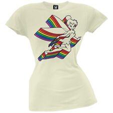 Tinkerbell - Repeating Rainbow Juniors T-Shirt