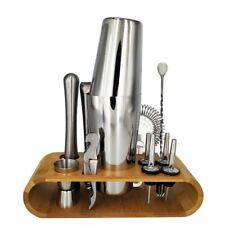 Boston Cocktail Shaker Bar Tool Kit Stainless Steel Bartender Wine Mixer Sets