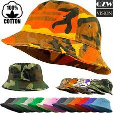 175cc6eb3 Bucket Fishing Boonie Cotton Hat Cap Brim Visor Sun Safari Military Camp  Travel