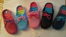 new kids coloreful waterproof  beach slip on sandals clogs watershoes