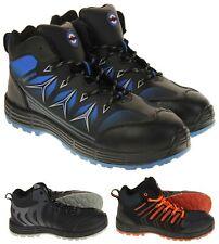 Lambretta Mens Boys Steel Toe Cap Safety Boots PPE Size 4 5 6 7 8 9 10 11 12 13