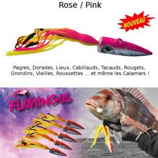 Leurre flamingo peche en Mer  Rose  / Multi-species flamingos lures Pink