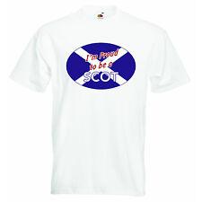 Im fier d'être un écossais nouveau personnalisé bébé garçons filles t-shirt tees clothing
