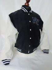 NY New York Baseball Giacca NFL MLB NHL Vintage Jacket Rockabilly College Yankee