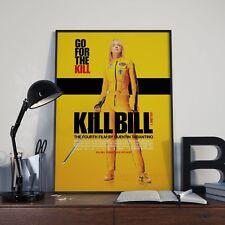 Tarantino Kill Bill Vol 1 Uma Thurman Movie Film Poster Print Picture A3 A4