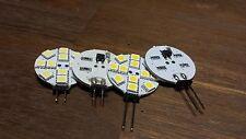 G4 Sockel Scheibe LED 3 Watt mit 12SMD 12V Lampe Leuchtmittel Birne Halogen Leds