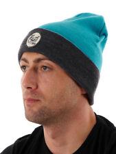O'Neill Mütze Kopfbedeckung Beanie blau Bloke Aufnäher wärmend