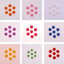 Lot de 20 mini boutons 9mm - Couleur au choix - Scrapbooking Couture