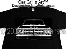 Car Grille Art™ Tee-Shirt T-Shirt, 1972 GMC, Truck, Pickup, 72 GMC