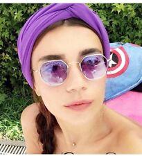 Classic Polygon Sunglasses Men Women Hexagon Square Eyewear Vintage Retro UV