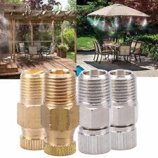 Garden Irrigation Kit Brass Misting Nozzle Water Spray Mist Cooling Sprinklers