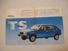 advertising Pubblicità 1979 RENAULT 14 TS